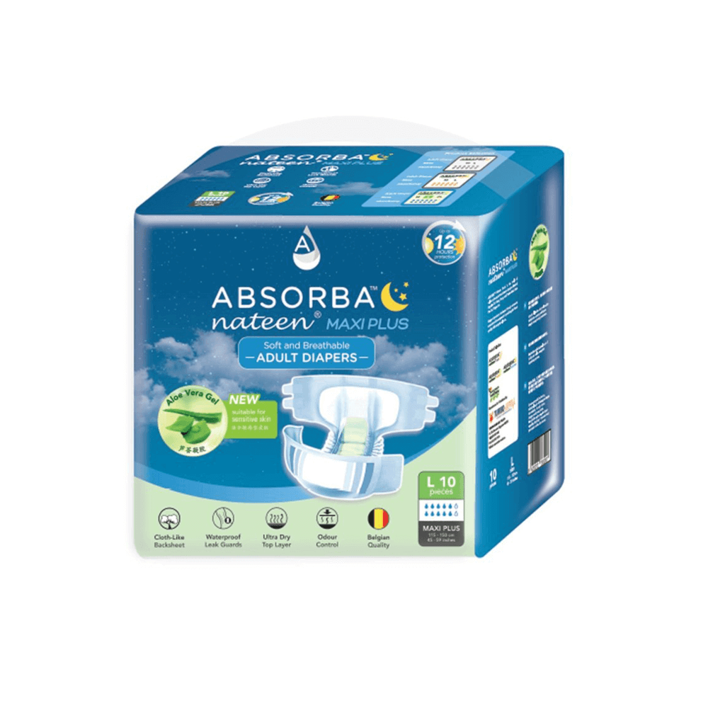 Absorba Nateen Maxi Plus Diaper Review